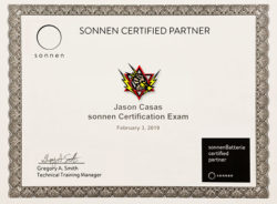 sonnencertification
